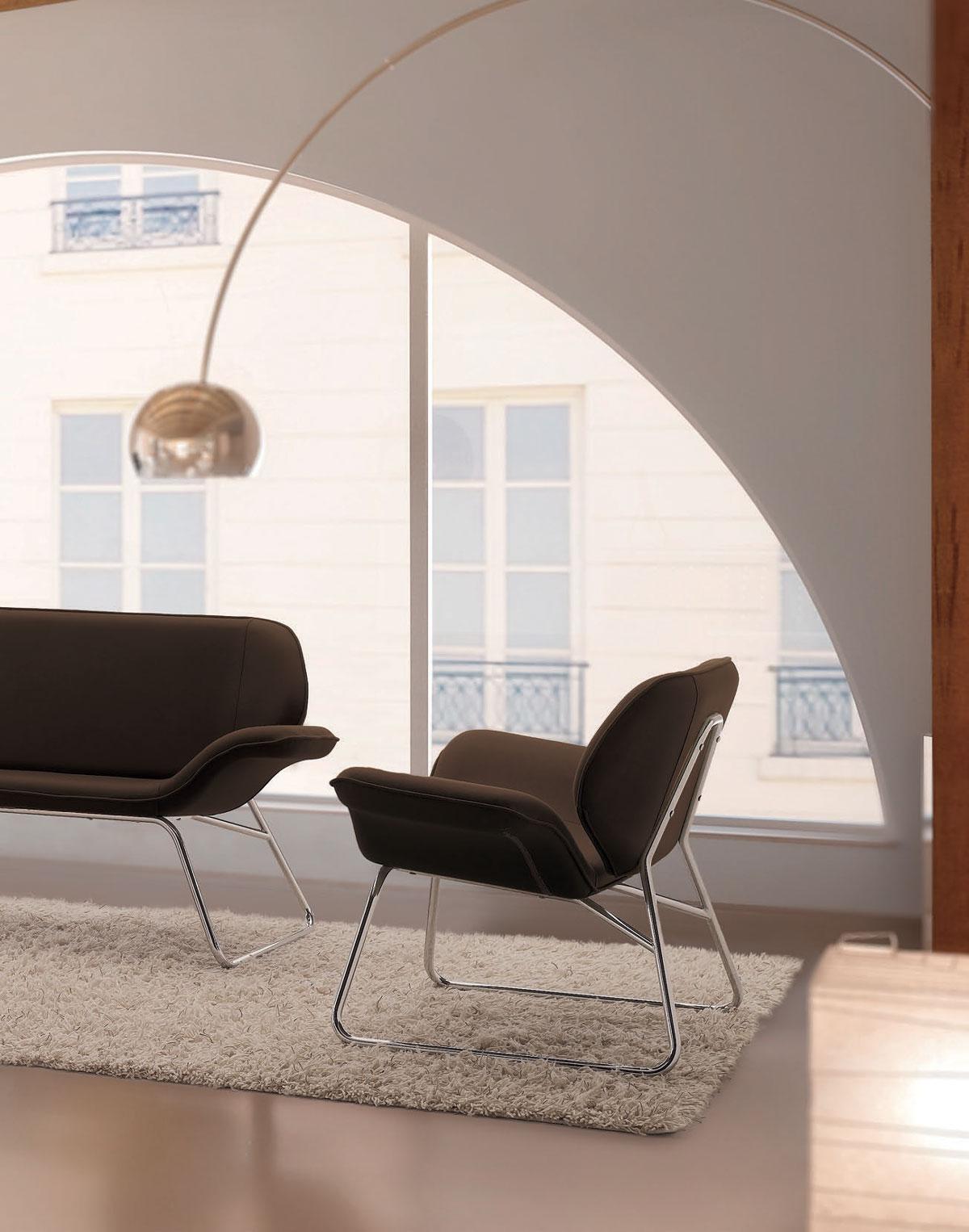 Sedute attesa riunioni design arredo in stile napoli for Design ufficio napoli